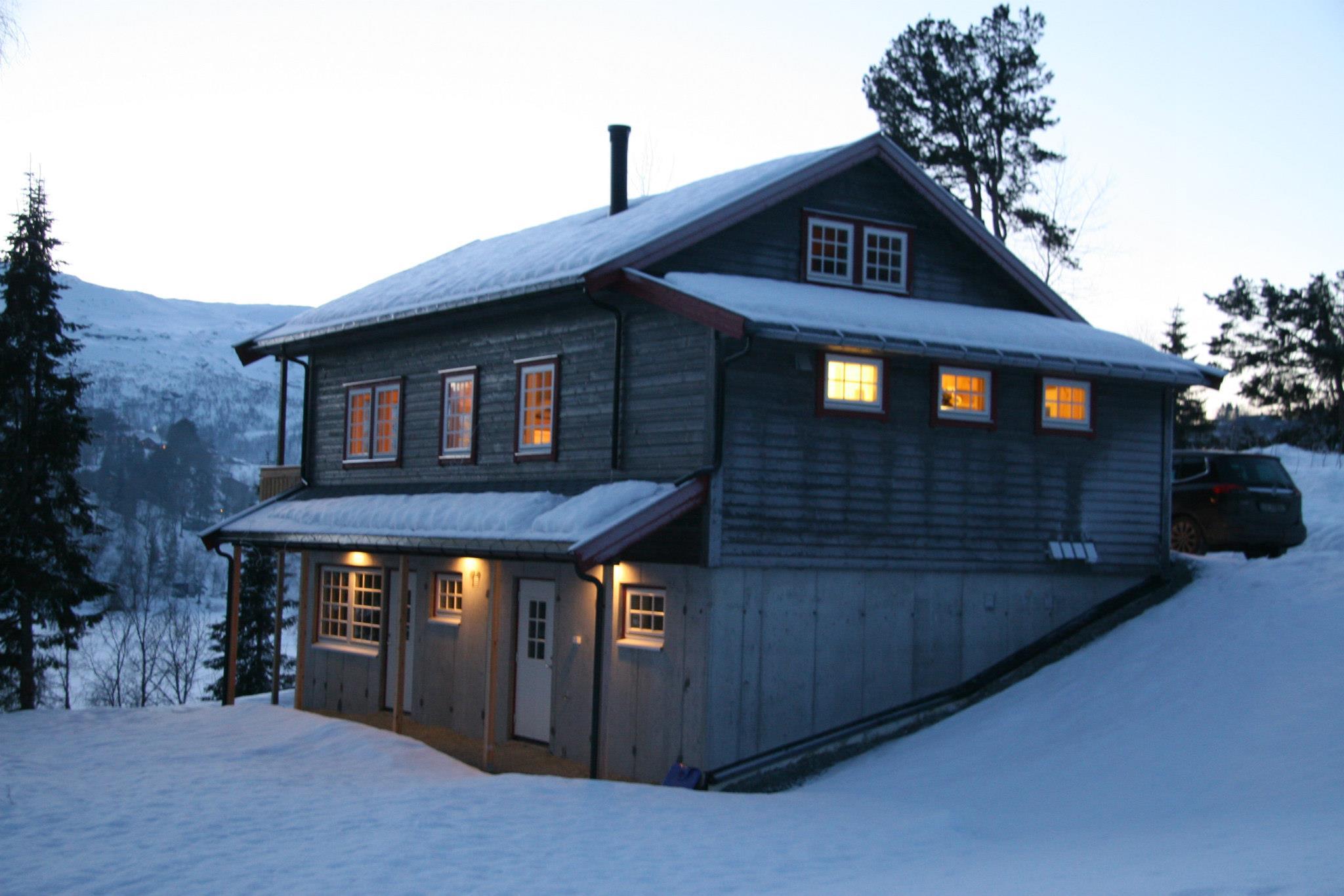 Den nyeste hytten stod ferdig i 2013
